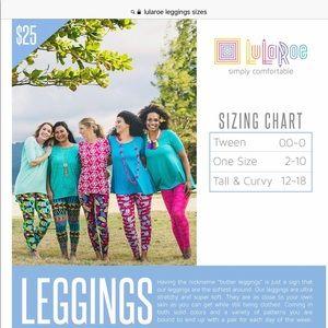 Leggings in TC, NWT